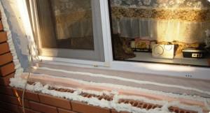 как утеплить окна назиму